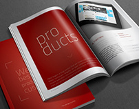 Web agency profile brochure