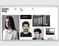 Carles Roig Website