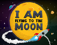 I Am Flying To The Moon flash game