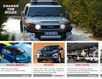 Various Toyota Dealerships