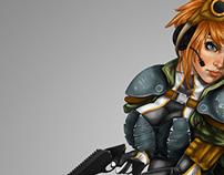 Armoured Gun Girl