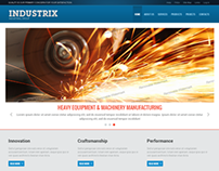 Industrix Heavy Industry Group Bootstrap HTML Template