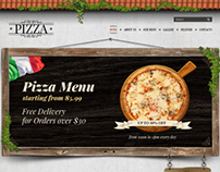Pizza Delivery Twitter Bootstrap HTML Template