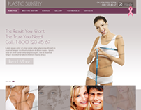 Plastic Surgery Bootstrap HTML Template 300111735