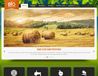 Bio Products Eco Agriculture Bootstrap HTML Template