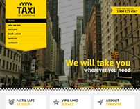 Taxi Cab Cooperative Service Bootstrap HTML Template