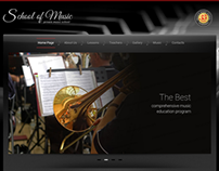 Private Music School Twitter Bootstrap HTML Template