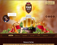 Beer Pub Twitter Bootstrap HTML Template