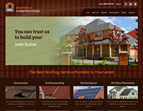 Roofing & Construction Twitter Bootstrap HTML Template