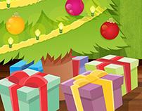Christmas card - Cartão de Natal