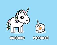 UNICORN/ /POPCORN