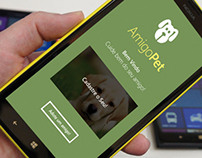 AmigoPet - Windows Phone App