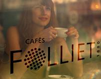 Cafés Folliet : New Brand Identiry