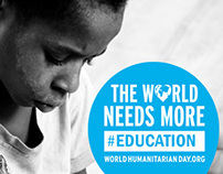 World Humanitarian Day 2013 Poster