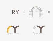 RY arquitectos - Identidad corporativa