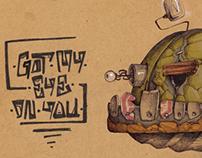 The Brown Sketchbook