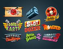 Videogame logos