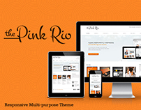 PINKRIO – RESPONSIVE MULTI-PURPOSE THEME
