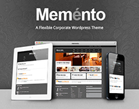 MEMENTO – A FLEXIBLE CORPORATE WORDPRESS THEME