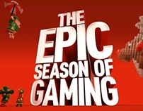 GAME's Epic Season of Gaming- 'Xmas Space Invaders'