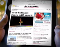 Sun Sentinel holiday card video