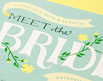 Meet the Bride Invitation