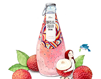 Basil seed drink x yejukoo