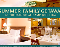 Camp John Hay: The Manor Social Media Ads