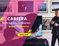 careera courses - social media campaign