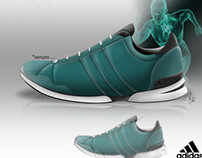 Shoes Rendering & Concept