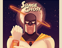 Space Ghost - Art Vector
