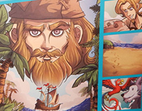 Robinson Crusoe | Graphic Novel
