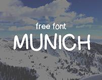 Munich Free Handwritten Font