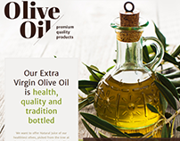 Extra Virgin Olive Oil Joomla Template