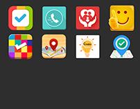 Mobile App Logo's