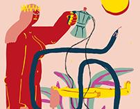 Illustration for Orilginal Coffee Prague