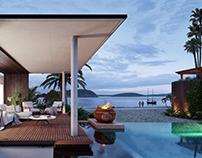 Sunset Blue Cottage