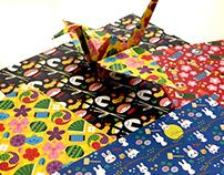 "Papeles de origami ""Kawaii"""