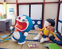 A Micro Room of Doraemon & Nobita