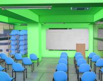 Classroom 3D Design