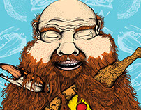 Action Bronson: Concept Poster