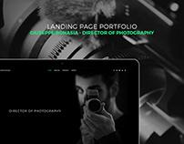 Giuseppe Bonasia DOP - Landing Page Portfolio