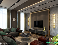 Modern Contemporary Living Room..5th Settlement