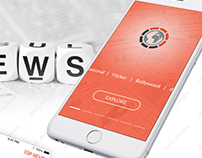 News Mobile APP-UX UI Inspiration Interface interaction