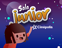 Cinépolis. Salas Junior