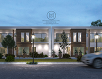 Moon villa . - Mohamed Magdy Designs -