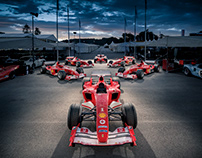 Michael Schumacher F1 Ferraris