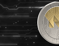 Cryptocurrency Logo - 3d Coin Design