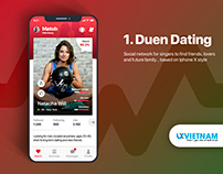 Duen UI KIT - Social Network Mobile application UI KIT