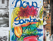 Nova Samba Illustrated Poster